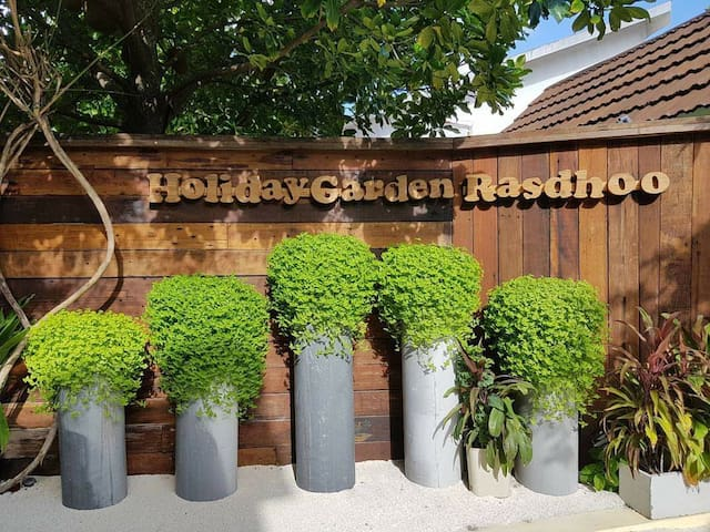 Rasdhoo Holiday Garden Maldives = Two Bedrooms =