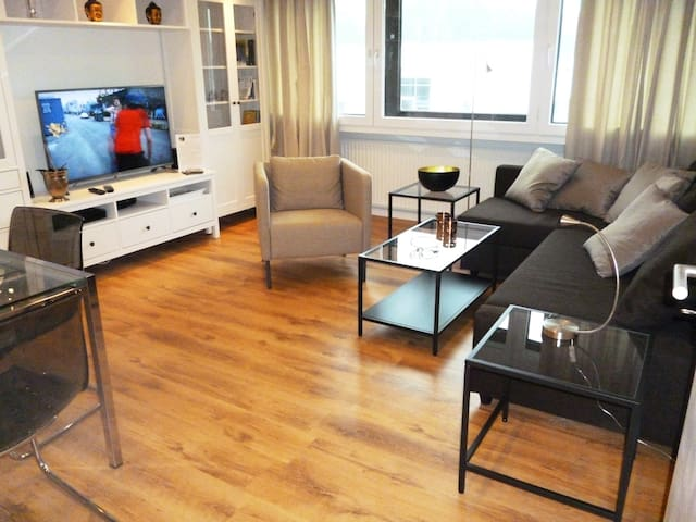 3-Zi.-Komfort-Wohnung, 85m², WLAN, sehr zentral