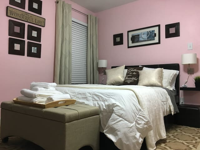 Nice cozy room - Downtown Dallas 20 min - Balch Springs - Huis