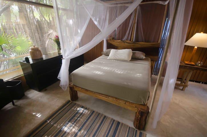 5. Super Pretty Jungle Cabin Across Tulum's Beach