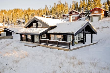 Large cozy cabin in the mountains - Hafjell