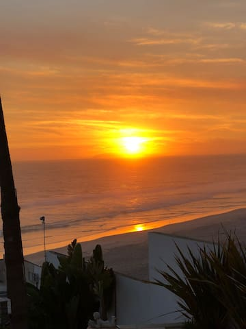 The best sunset in Rosarito
