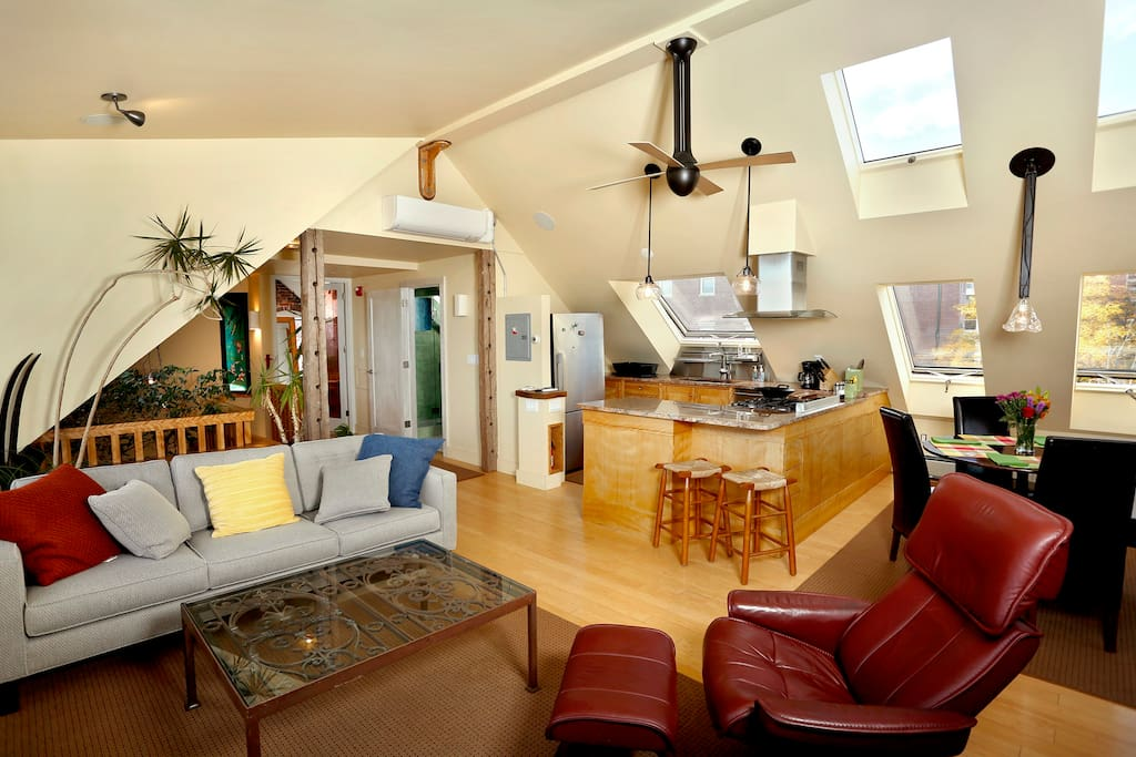 Breathtaking Modern Penthouse With Water Views Apartments For Rent In Portland Maine United