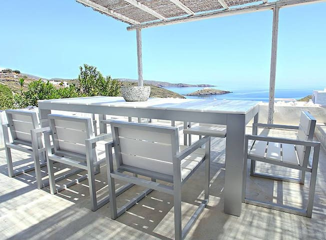 Breathtaking Seaside Villa Kythnos - Aosa - Villa