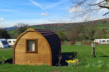 Log Pod in the Brecon Beacons
