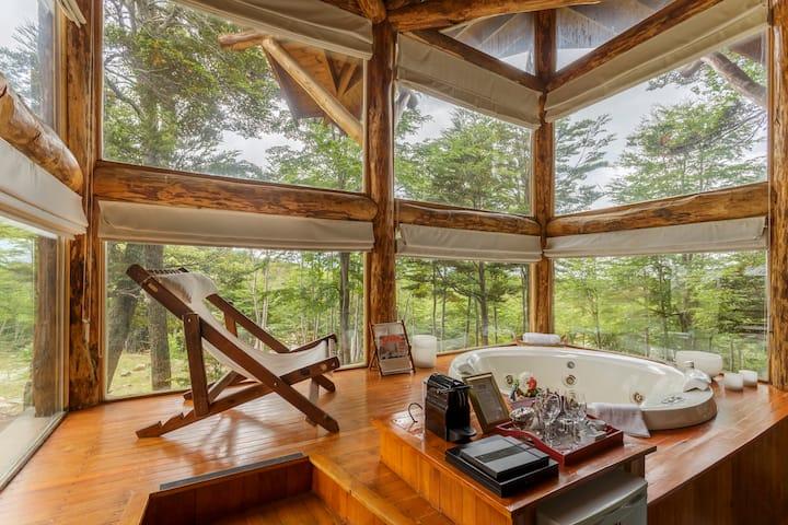 Cabaña de lujo en el bosque SAUVIGNON BLANC