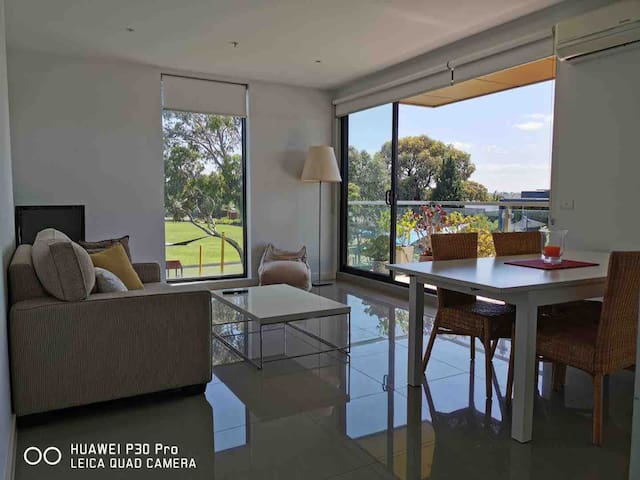 Convenient, Comfortable Glenferrie Road Apartment