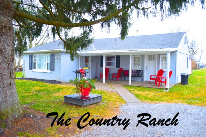 Ranch House near Creation Museum/Ark/Ski Slopes
