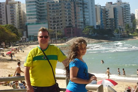 Urlaub am Strand Praia do Morro in Guarapari, ES