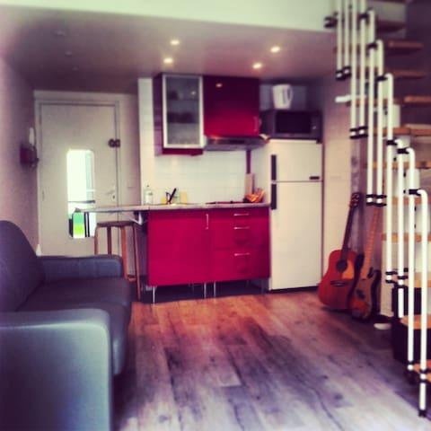 Appartement duplex de 25m2 et cours de 11m2 - Charenton-le-Pont - Apartment