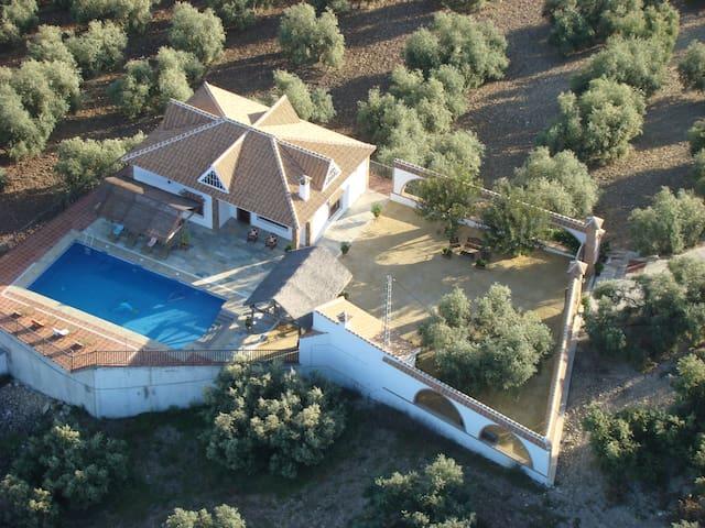 La Villa del Lago - Iznájar - Hus