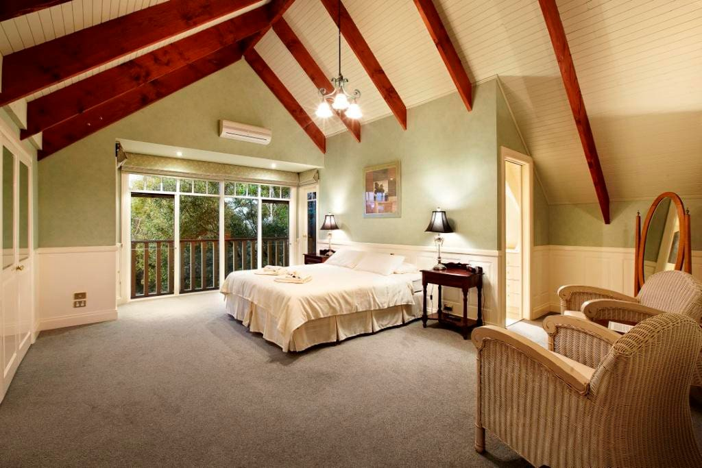 """Room 7, """"The Master Bedroom"""" with King bed and ensuite"""