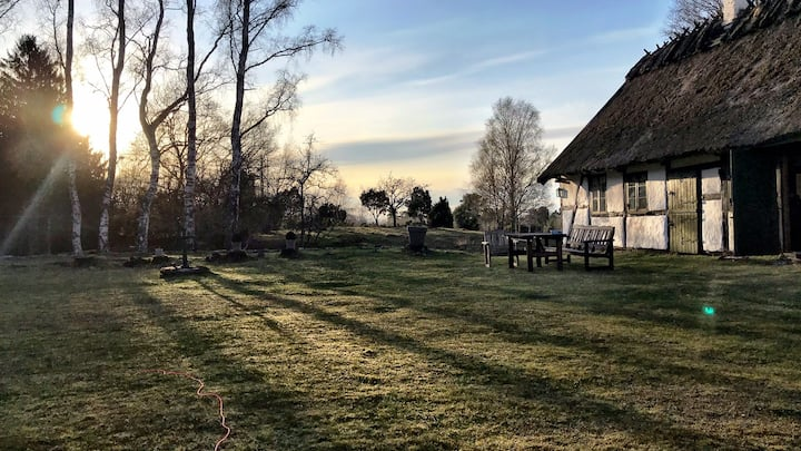 Magical 17th Century farm house in nature reserve