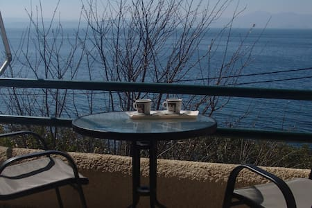 Sea side apartment with amazing view - Sipiada - Byt