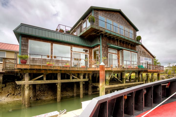 Levee House / Experience Life On The River - Hoquiam - Casa a schiera
