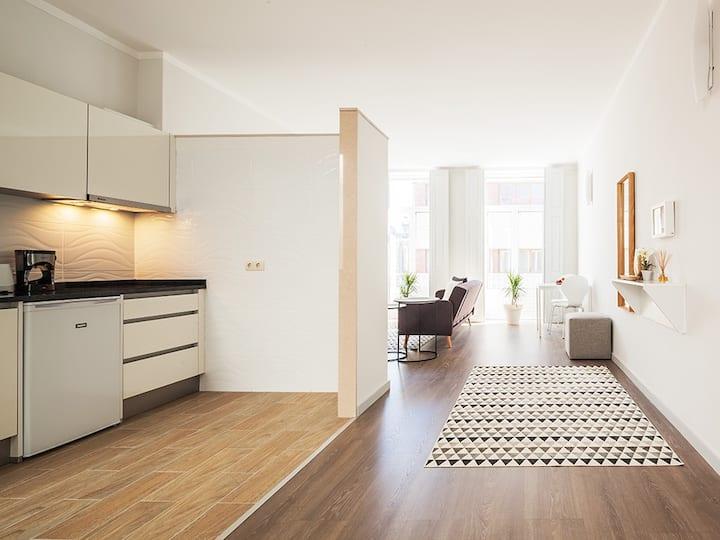 1 bedroom apartment bolhão-market-green