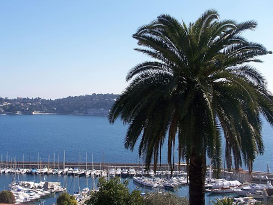 Another view of Bay of Villefranche