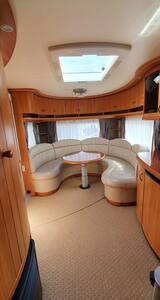 Luksus campingvogn, luxury caravan.