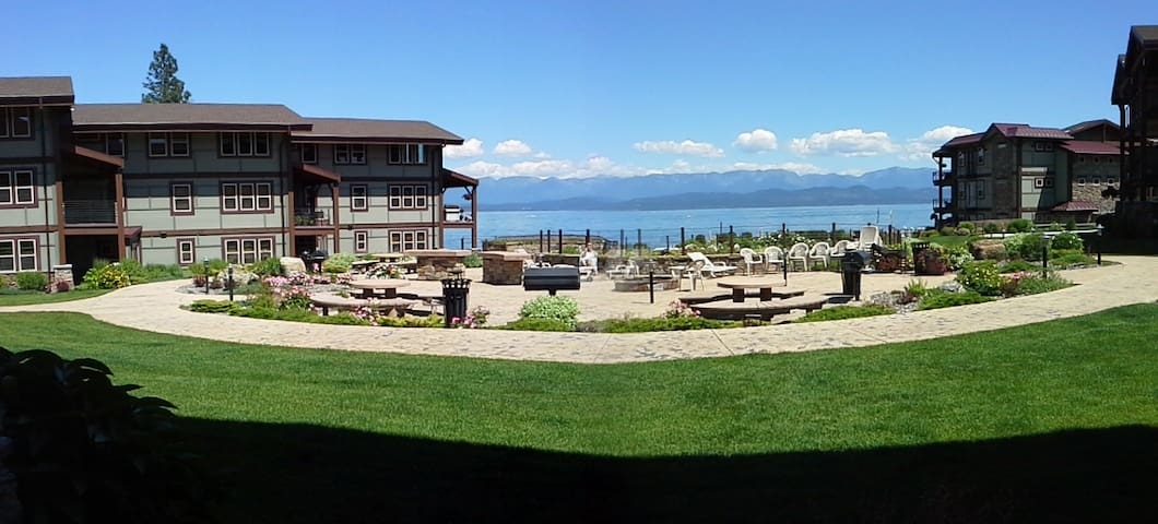Flathead Lake Waterfront condo - Lakeside - Kondominium