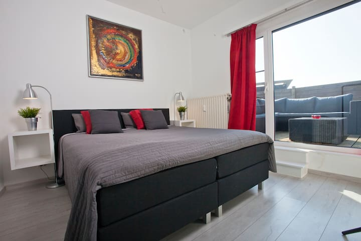 Lovely apartment Antwerp near Centre&EXPO+parking