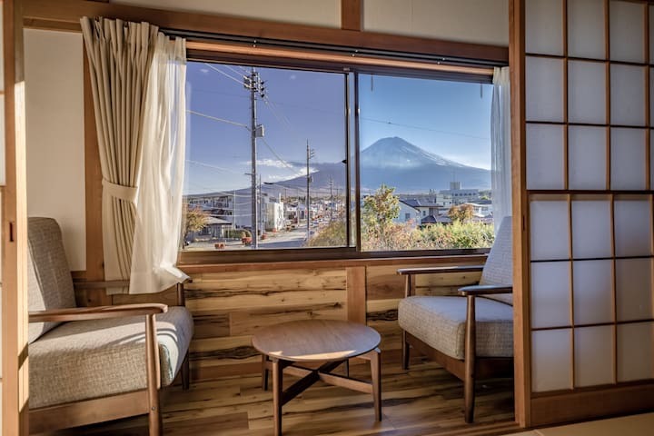 Mt.Fuji view!Japanese traditional modern houses