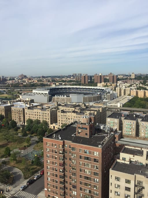 Another view of Yankee Stadium