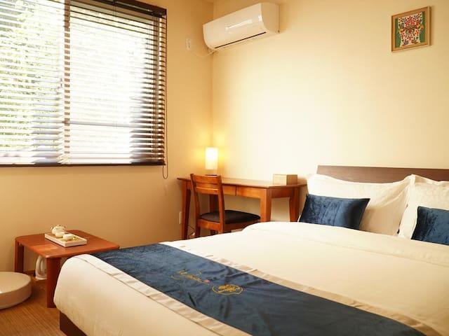 Wayn-Zen Onna Hotel Double Room