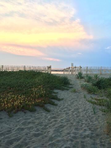 maison de vacances sur la plage - Le Barcarès - Hus