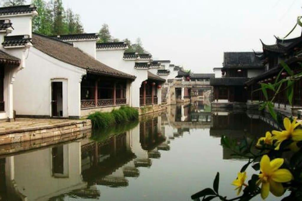 夫子庙的小桥,流水,人家。