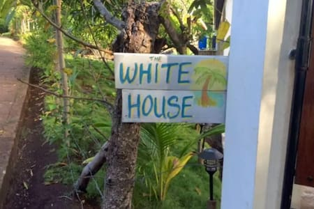 The White House: Little Corn Island Studio Apt - Corn Island - Lakás