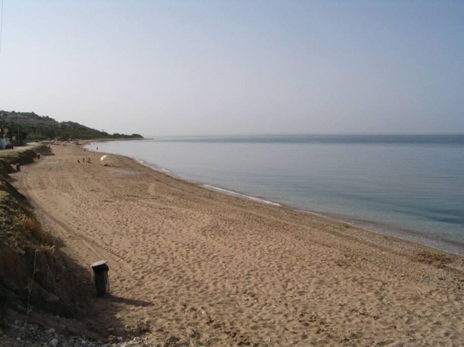 La spiaggia a pochi passi