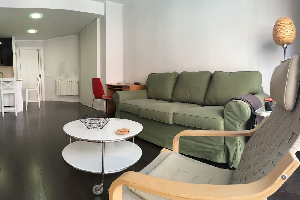 Confort gran via apartments for rent in madrid for Sofas gran confort