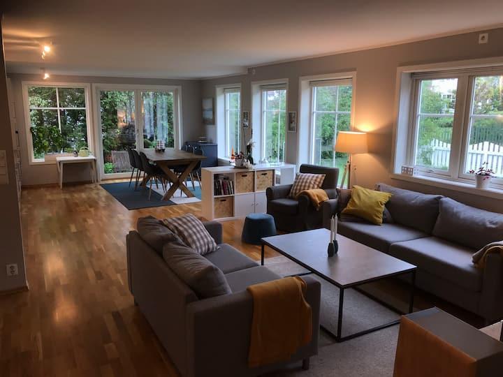 Moderne, solrikt og kort vei til Brygga i Tønsberg