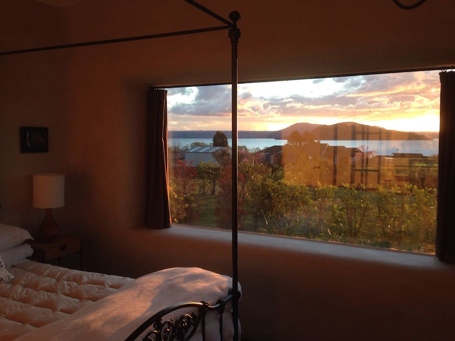 Take in the beautiful view of Mokoia Island on Lake Rotorua from your room. The sunsets can be breathtaking.
