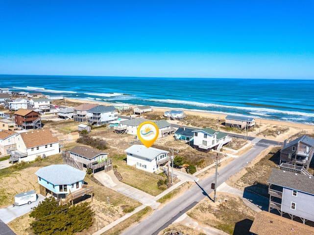 5304 Pokey's Place * 1 Minute Walk to Beach * Pet Friendly * Ocean Views