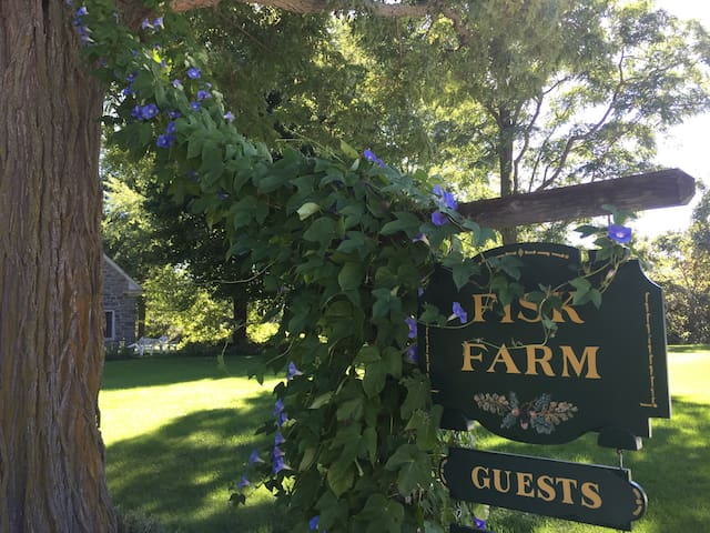 Fisk Farm: An historic property on Lake Champlain