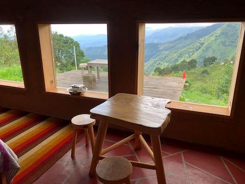 Cabaña de adobe cerca de San José