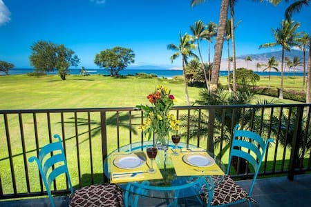 Direct Beach Oceanfront Romantic Maui! With A/C - Kihei