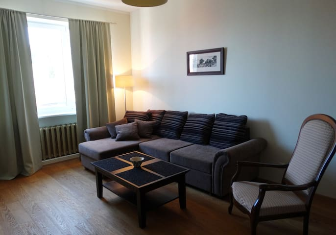 Nice and quiet two-room apartment in Pärnu centre