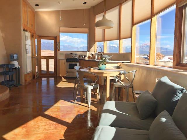 Taos Earthship: Modern + Mesa