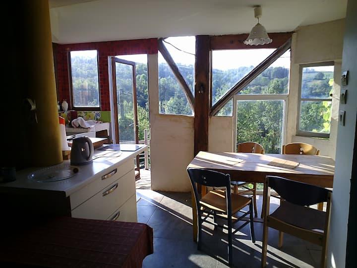 Appartement atypique dans maison d'artiste