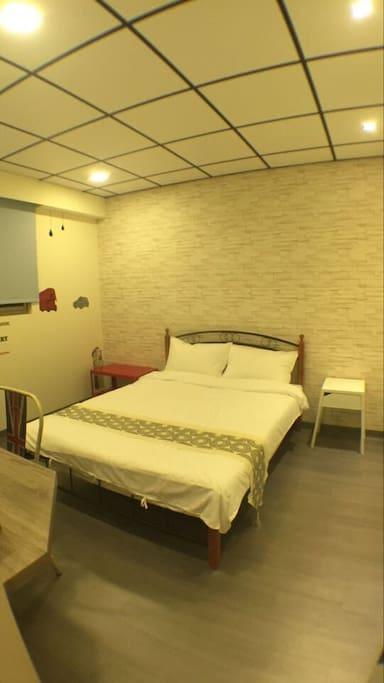 舒適 1.5米之標準雙人床