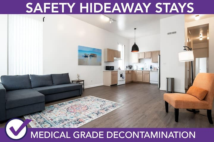 Safety Hideaway - Medical Grade Clean Home 112