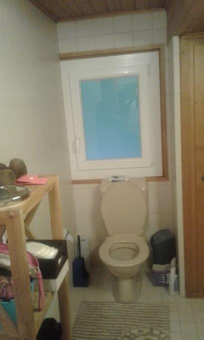+WC a l'etage