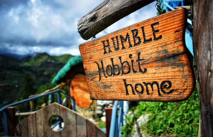 Humble Hobbit Home with a great Mt. Kinabalu view