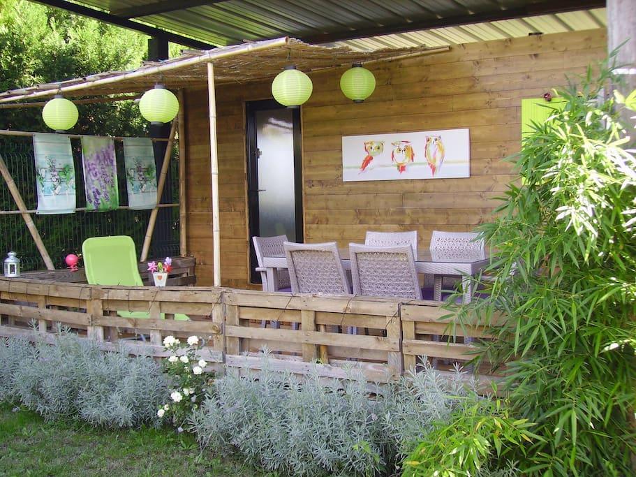 Petit cottage zen ...