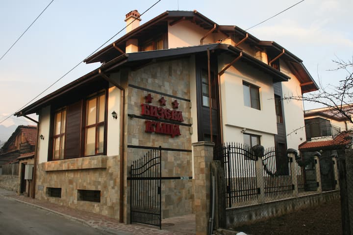 Affordable rooms in Bansko's picturesque old town