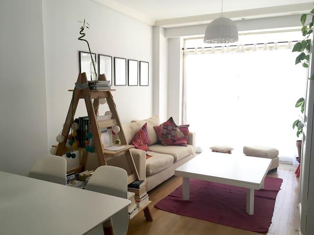 Bright room in Las Cañitas, Palermo - บัวโนสไอเรส - อพาร์ทเมนท์