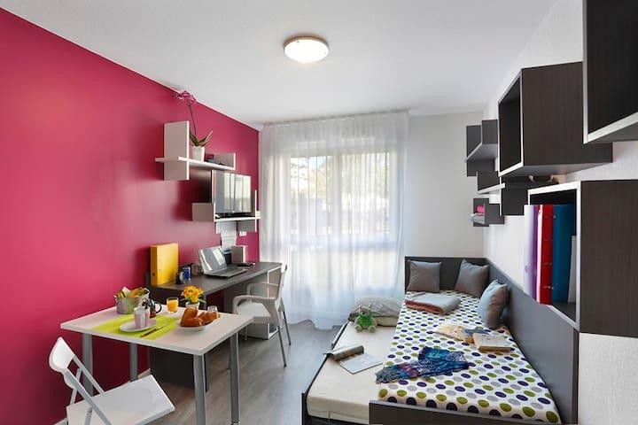 studio dans résidence neuve - Дижон - Квартира