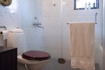 Master bathroom. Designer fittings throughout.